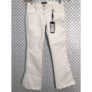 Dolce&Gabbana white jeans wide leg Size 38
